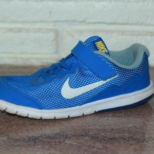 Nike Velcro Boys Youth Size 3 Blue